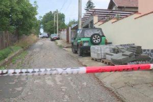 Улицата към къщата, където се е случила трагедията, снимка : bTV