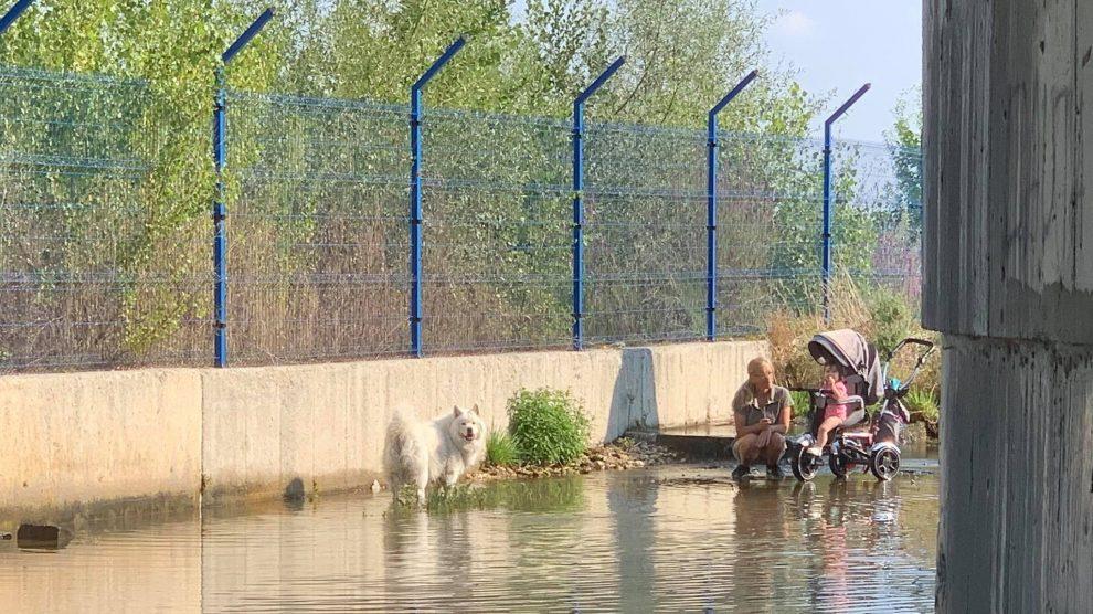 Т. нар. водно огледало край Кадиево