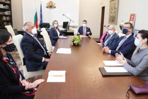"""Борисов се срещна с представители на """"Локхийд Мартин"""""""