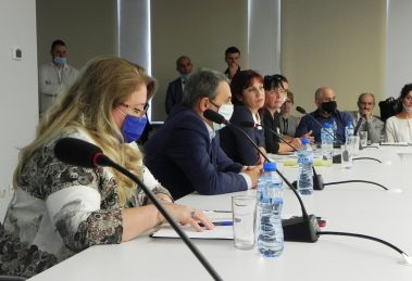 Работната среща по проекта за изработването на Национално меню.