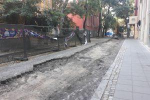 """Изграждането на нов топлопровод затвори улица """"Екзарх Йосиф"""""""