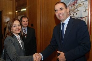 Гордана Янкулоска и Цветан Цветанов