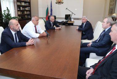 Бойко Борисов се срещна с ръководството на Съвета на ректорите