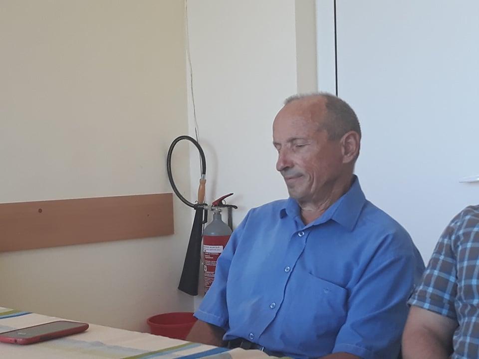 проф. Любен Стоков, участвал в операцията