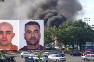 Взривът в Сарафово и двамата поръчители, които се издирват. Снимка: Канал3