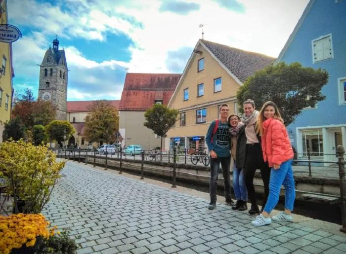 Меминген е като филмов декор