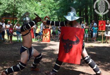 """След официалното откриване на 25 септември древните бойци ще завладеят територии в парк """"Лаута"""""""