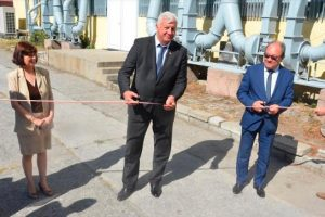 Здравко Димитров и председателят на БАН акад. Юлиан Ревалски откриха първия по рода си в България Изследователски център по мехатроника и нанотехнологии