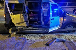 Катастрофиралата кола.