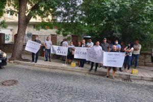 Протестиращите срещу Румен Радев