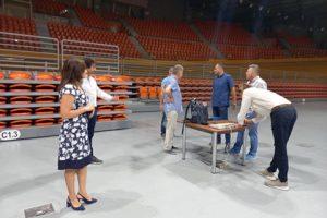 Делегати на Европейската централа по волейбол инспектираха Колодрума.