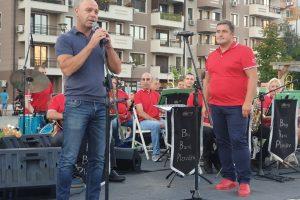 """Концертът на Биг Бенд Пловдив в """"Тракия""""."""