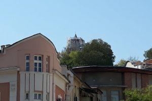 Кулата на Сахаттепе е опакована за ремонт