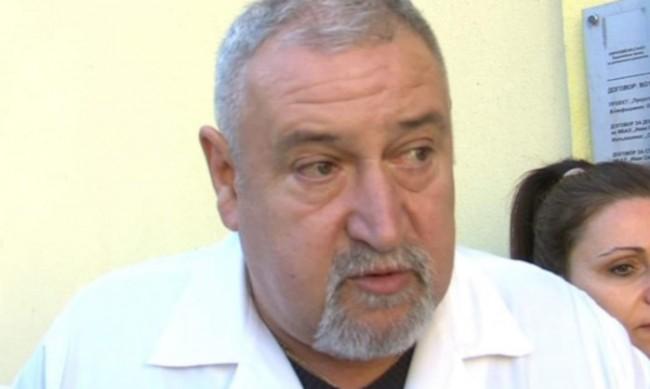 Д-р Милан Първанов загуби битката със заразата