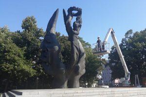 Измиха паметника на Съединението