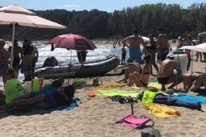 На плажа е имало много семейства с деца, снимка БГНЕС