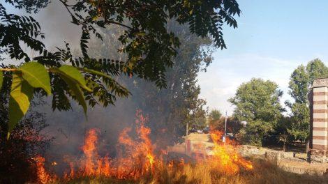 Пожарът а Коматевския възел.