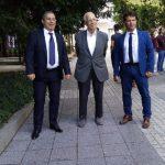 Д-р Калин Калинов, проф. Александър Чирков и проф. д-р Петър Петров