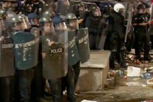 Над 80 са ранените полицаи след вчерашните протести в София