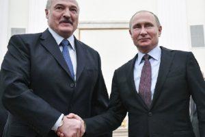 Александър Лукашенко и Владимир Путин
