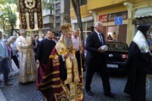 Митрополит Николай и Здравко Димитров поведоха шествието