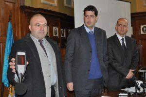 Шумомерът, закупен от Община Пловдив през 2013 г.