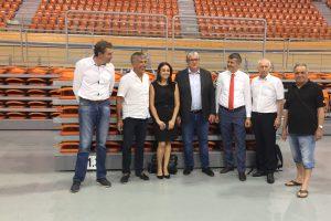 Днешната среща в Колодрума преди Европейското първенство по колоездене на писта.