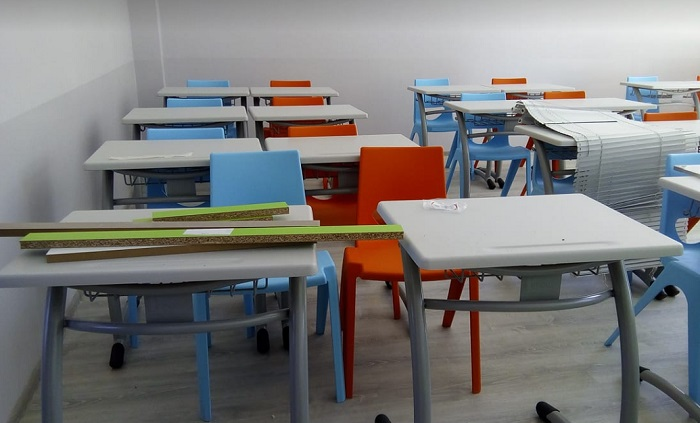 Някои от учениците ще влязат в чисто нови класни стаи
