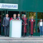 Директорът на Техническия университет - филиал Пловдив проф. д-р Въльо Николов поздрави първокурсниците