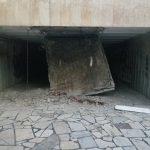 Срутеният таван, снимка: Фейсбук