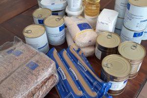Хранителните продукти ще се раздават до края на ноември
