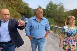Томислав Дончев, Бойко Борисов и Таня Христова
