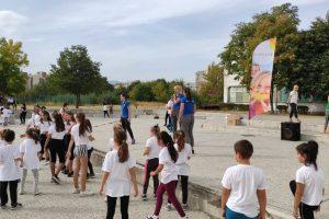 """Шампионките от Марица участваха в инициативата """"По-здрави деца"""""""