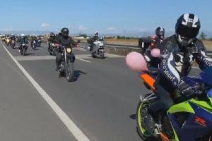 Шествието по Асеновградско шосе, снимки: Фейсбук
