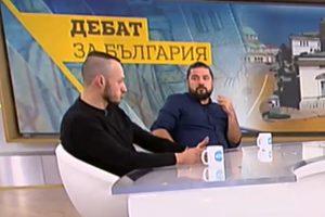 доц. Стойчо Стойчев и Страхил Делийски