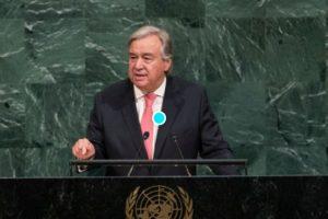 Антониу Гутериш, генерален секретар на ООН