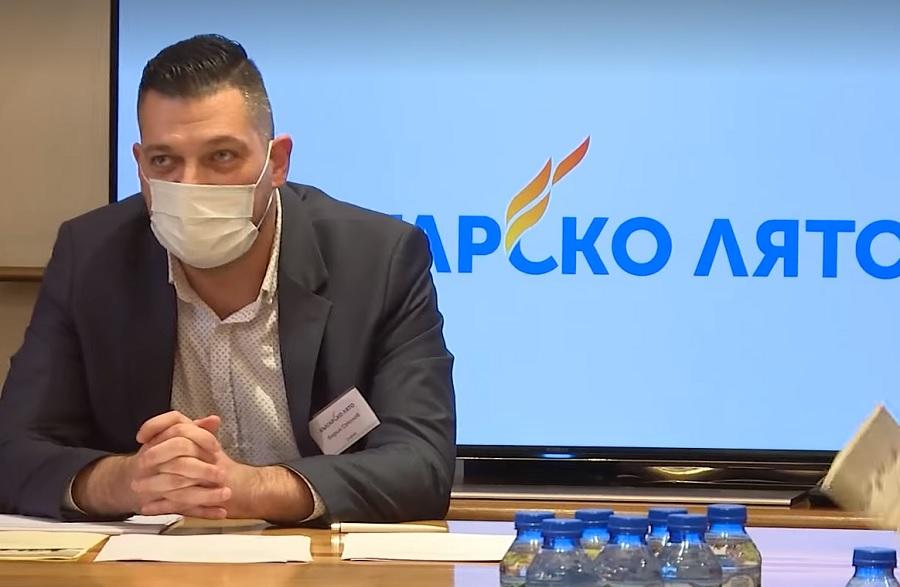 Борил Соколов ръководи учредителното събрание на Българско лято.