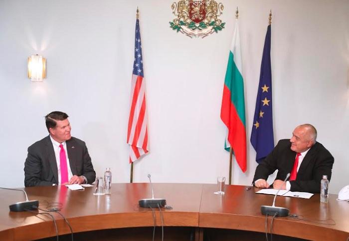 Премиерът Бориснов се срещна с американския заместник-държавен секретар Кийт Крак