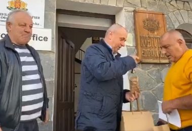 Борисов в Широка лъка Кадър: ФБ