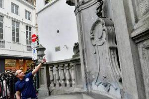 Манекен Пиш в Брюксел ще се радва на по-малко туристи.