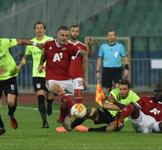 ЦСКА показа добра игра, но отстъпи на Клуж
