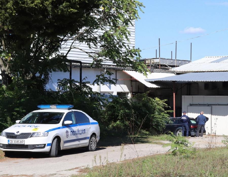 Наркофермата в Горна Оряховица е в няколко изоставени цеха. Кадър: БТА