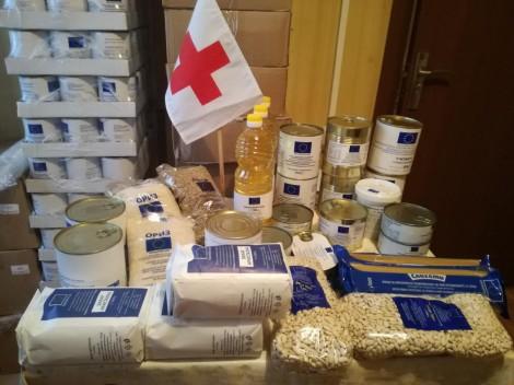 Хранителни продукти, които ще се раздават от БЧК