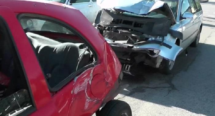 Пиян шофьор предизвика тежка верижна катастрофа на светофар по подобие на тази, в която загина журналистът Милен Цветков