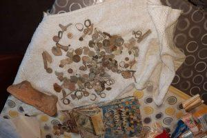 Част от откритите артефакти