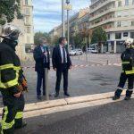Снимките от поста на кмета на Ница в туитър