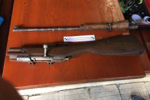 Част от откритите оръжие и патрони
