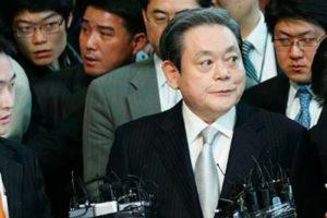 """Президентът на """"Samsung"""" Ли Кун-хи"""