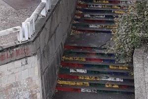 Цветните стълби в Асеновград
