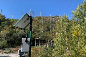 Измервателната станция на Въча.